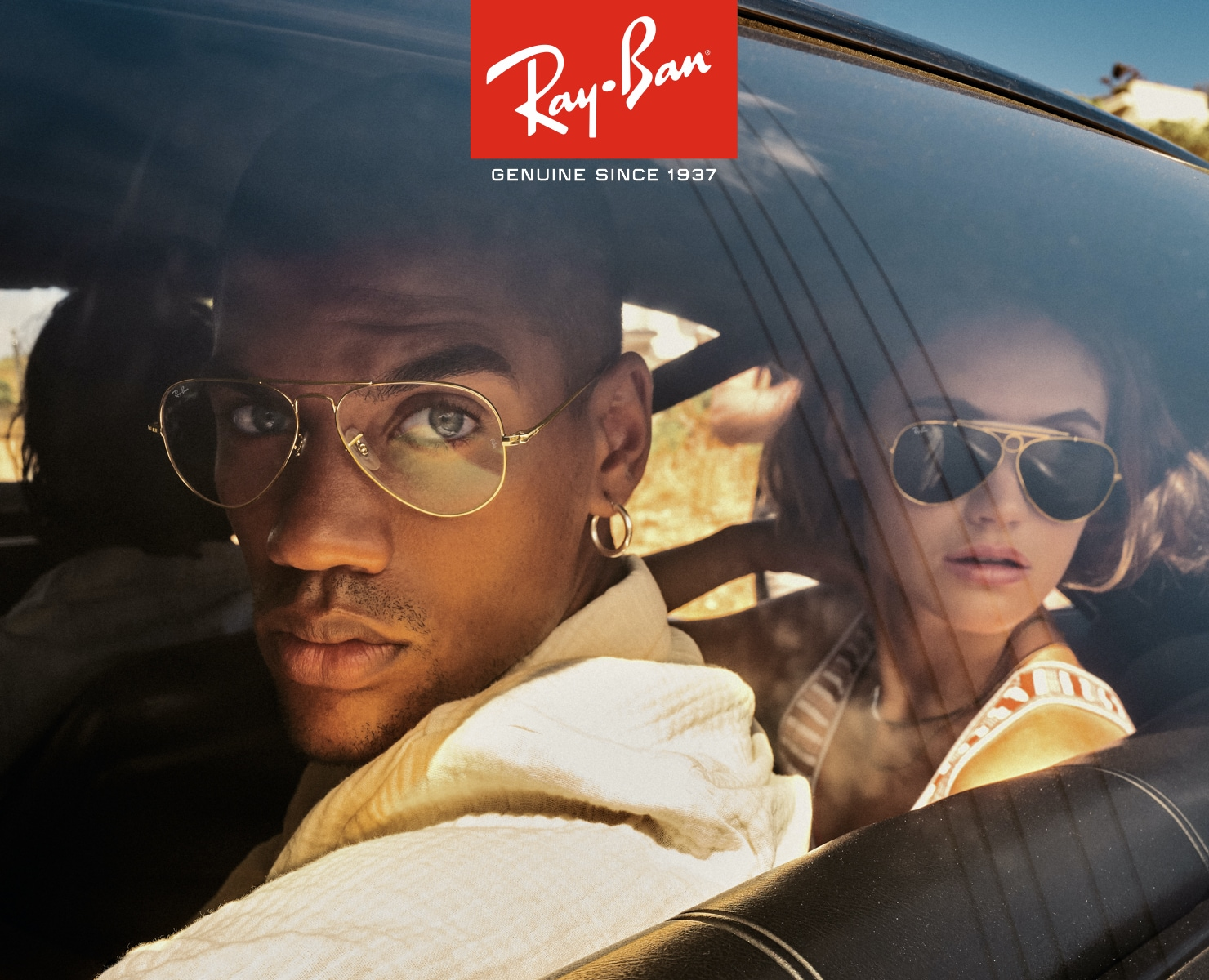 Ray-Ban Campaign Banner Mobile