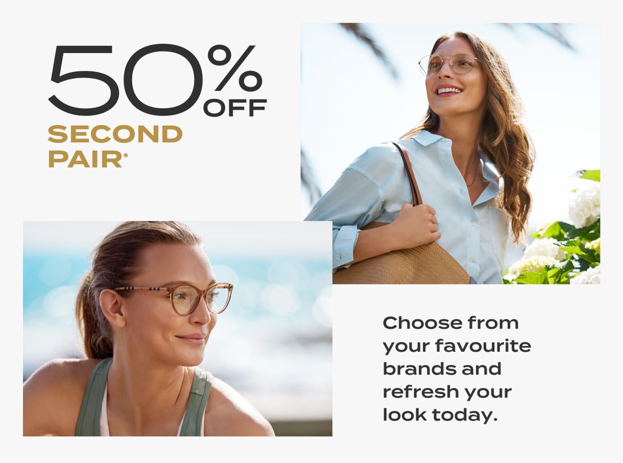 50% off 2nd Pair slot 3