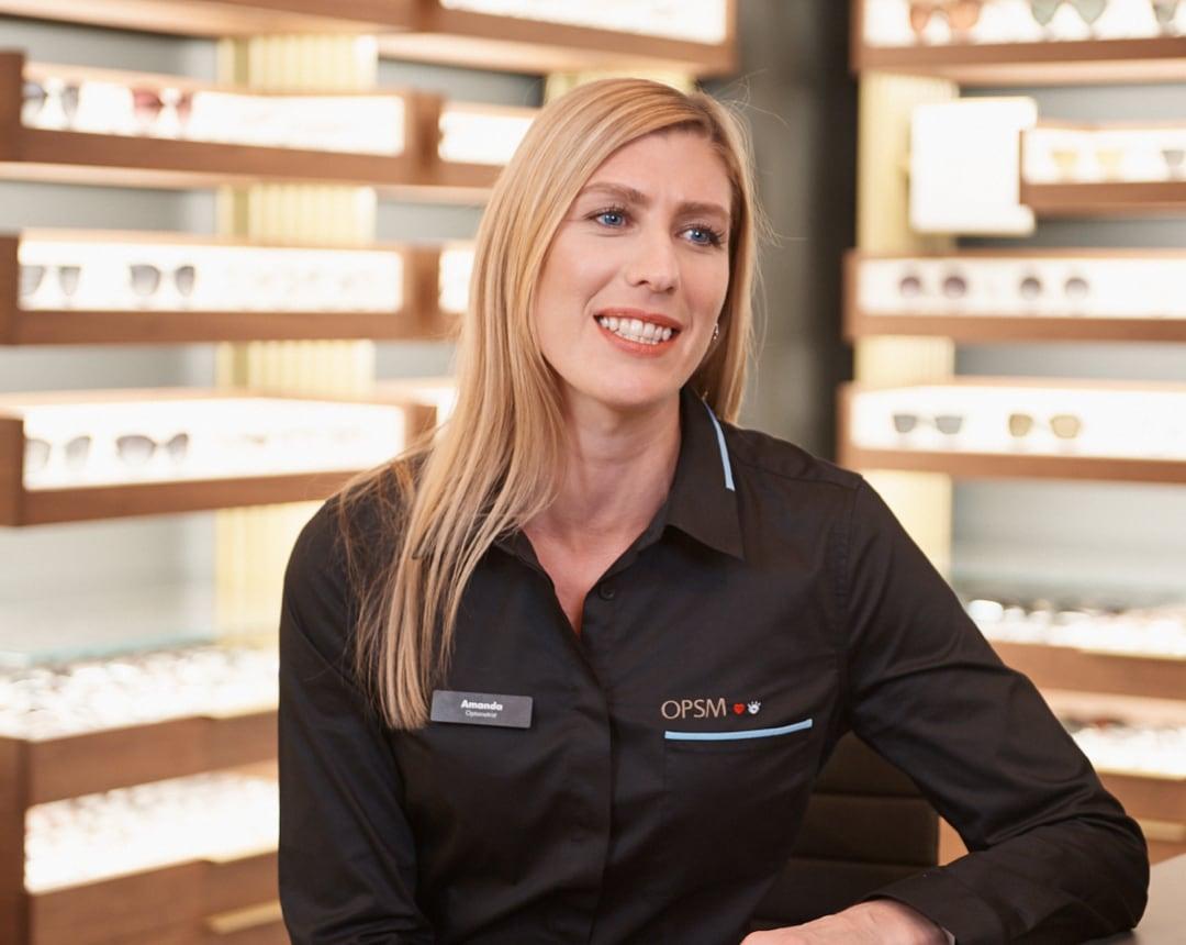 Doctor Amanda smiling at work