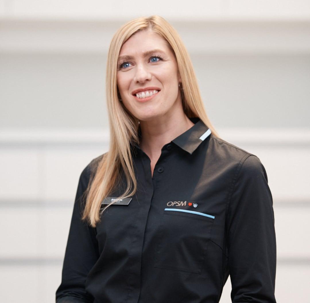 Doctor Amanda smiling