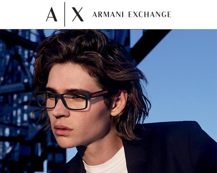 Banner PLP Armani glasses Mobile