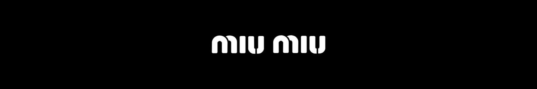 MIU MIU top banner