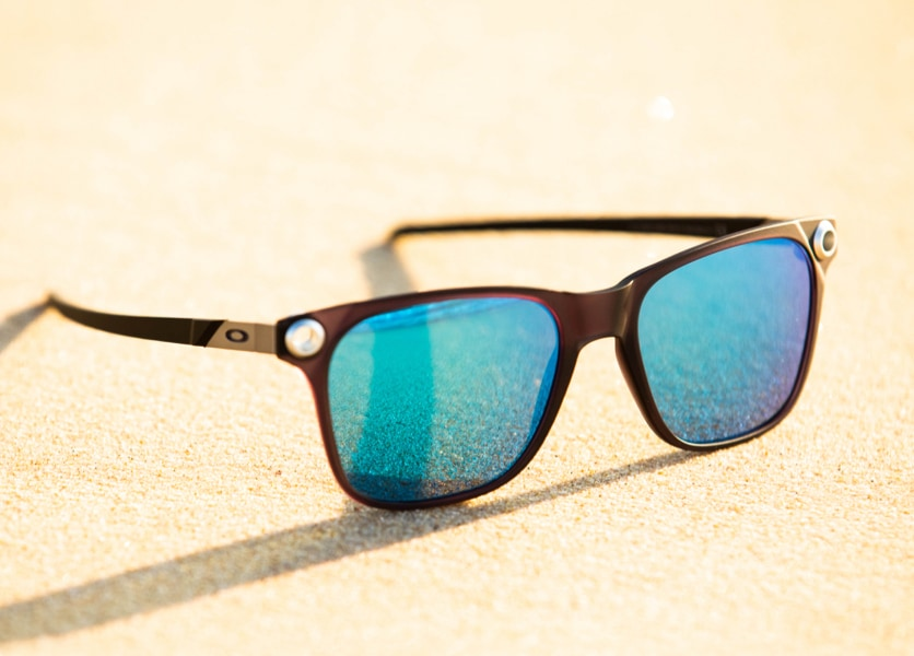 Polarised lenses image