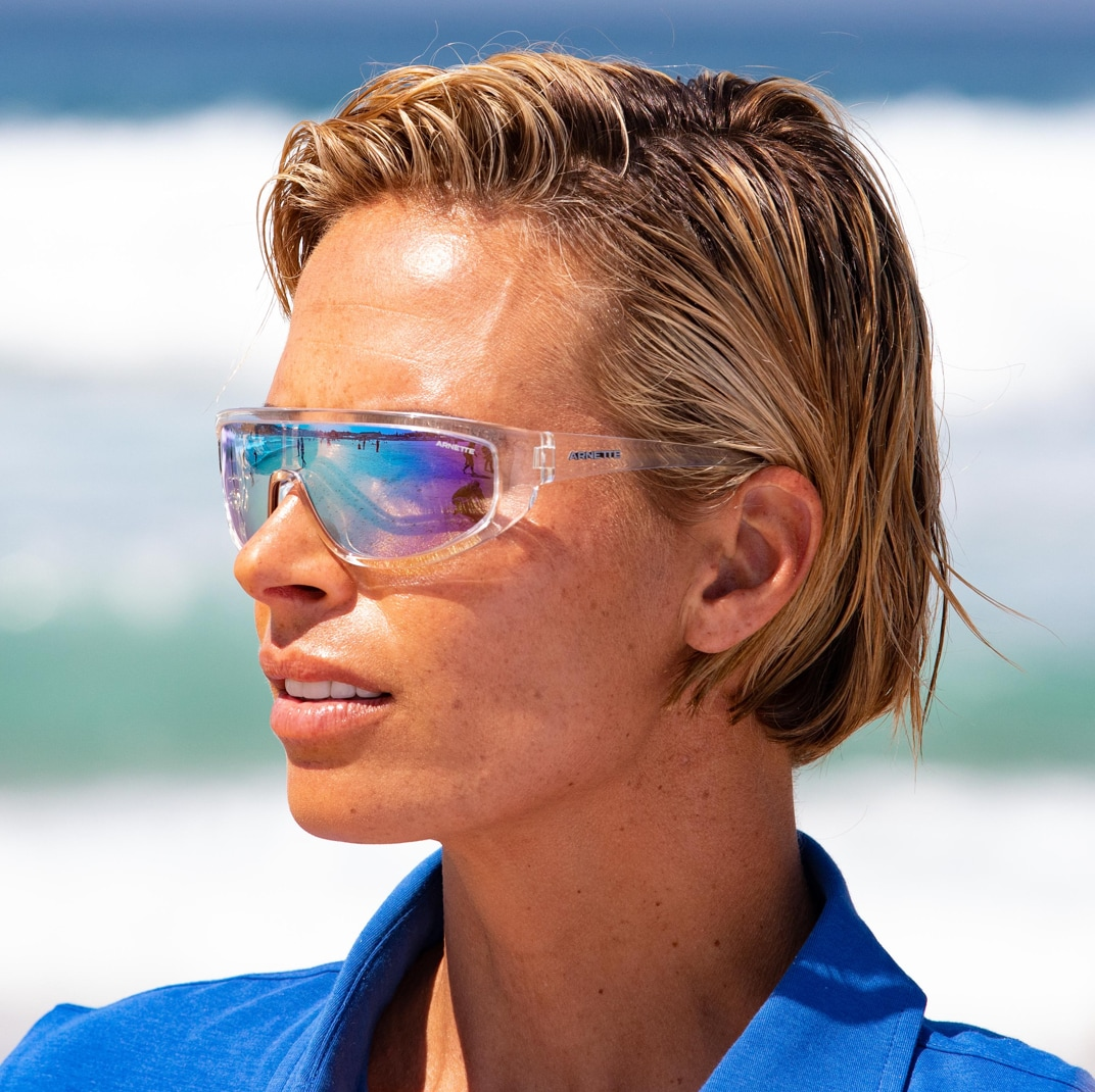 a lifeguard with sunglesses image