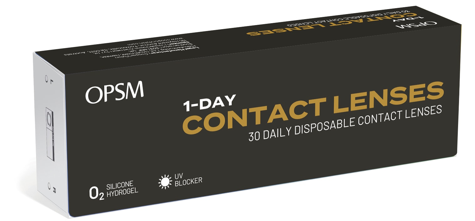 OPSM Loves Eyes Daily Disposable Contact Lenses