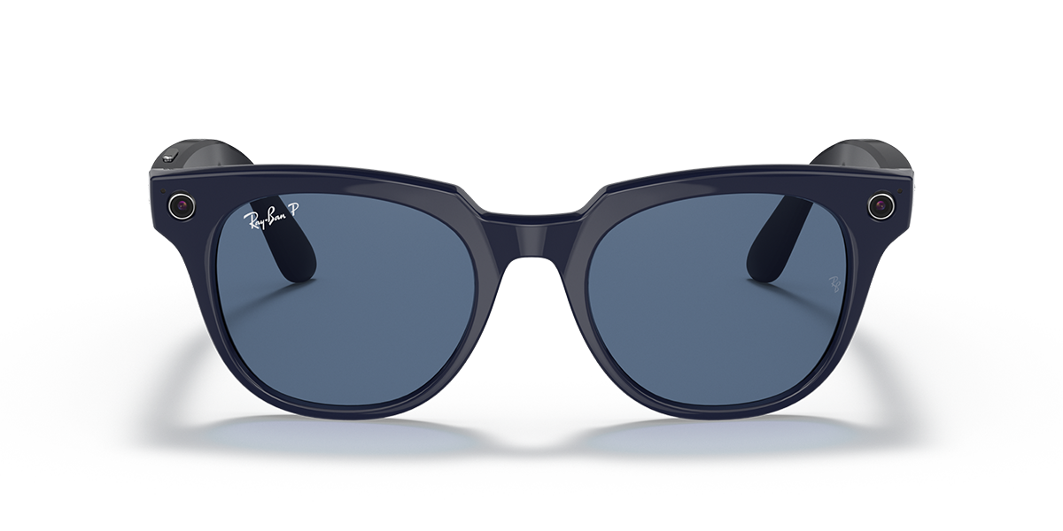 Ray-Ban Stories Meteor Blue Sunglasses front